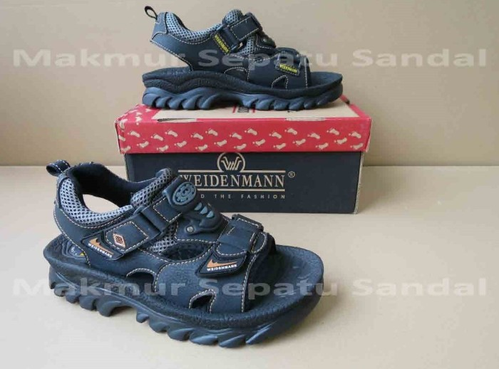 harga Sandal gunung / sepatu sandal pria - weidenmann tornado - black Tokopedia.com