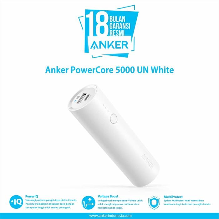 anker powercore 5000 un white - a1109g21