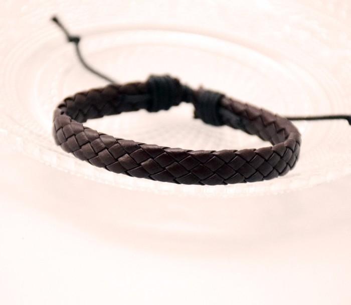 harga Gg088 gelang pria kulit / men fashion faux bracelet serut bangle Tokopedia.com