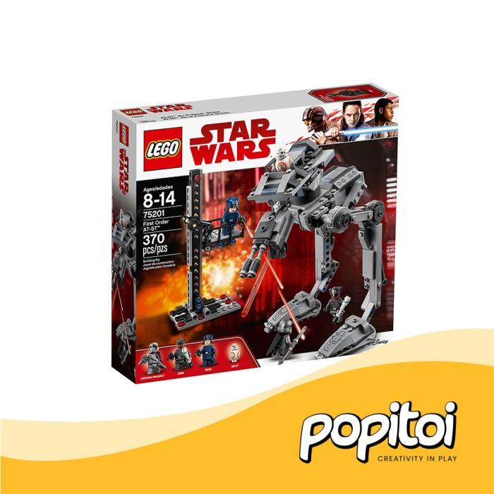 LEGO Star Wars First Order AT-ST 370 Pcs Set 75201 Captain Phasma Brand New