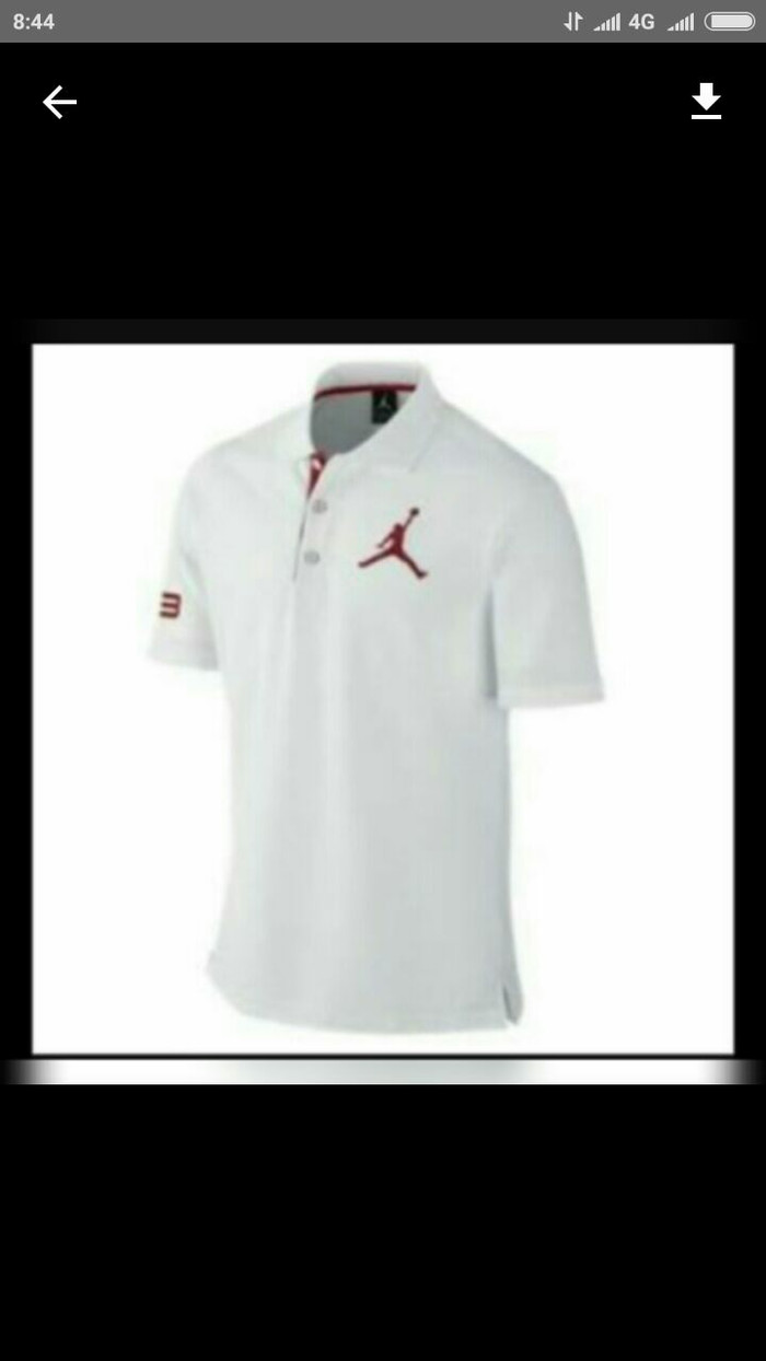 01feb8afd63 Jual kaos kerah - polo shirt jordan - Zaini's clothes | Tokopedia