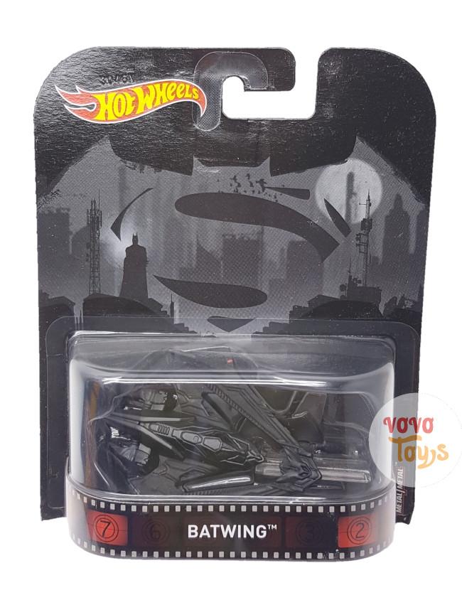 harga Hotwheels 1:64 batman vs superman batwing retro entertainment 956a Tokopedia.com