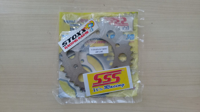 harga Gir 46 t 428 vixion r15 byson xabre mx king scorpio sss belakang gear Tokopedia.com