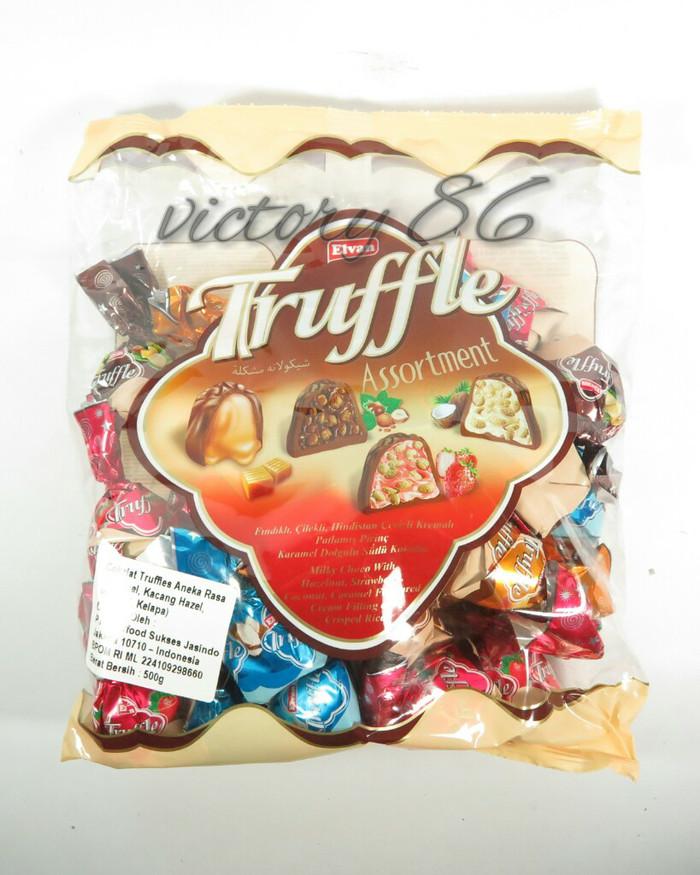 Elvan Truffle assortment/ coklat truffle aneka rasa 500g