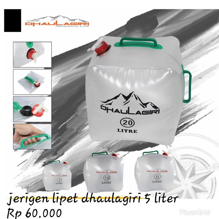 harga Jerigen lipet 5 liter dhaulagiri Tokopedia.com