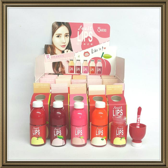 harga Lip Tint Fruit Lip Qianxiu Glaze 5 Color Tokopedia.com
