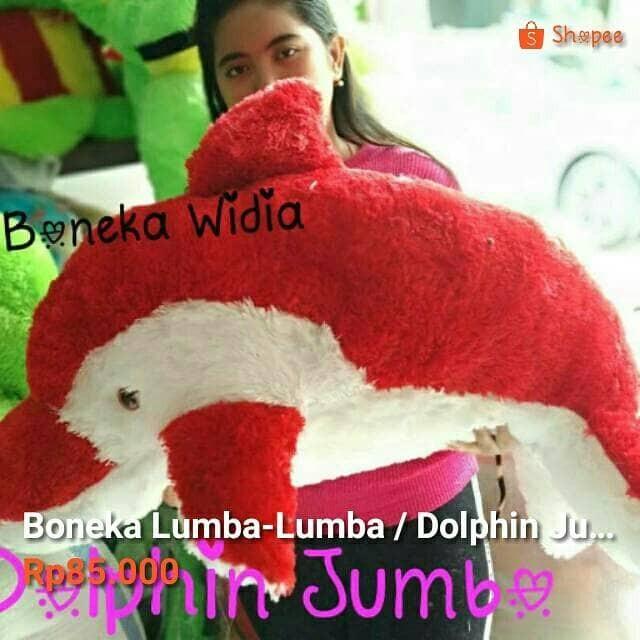 harga Boneka lumba-lumba / dolphin jumbo Tokopedia.com