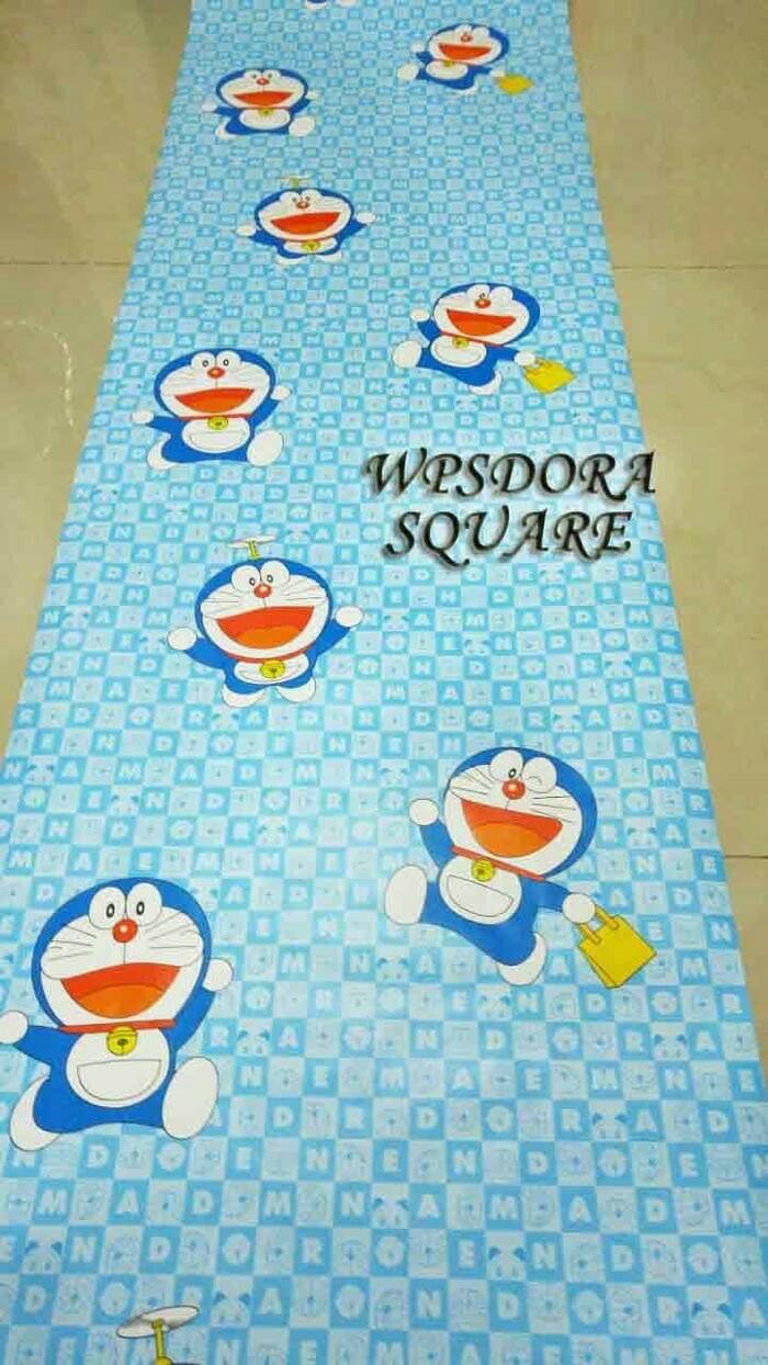 Jual WPSDorasquare Wallpaper Sticker Wallpaper Dinding Wallpaper Doraemon Kab Bogor Awilarm