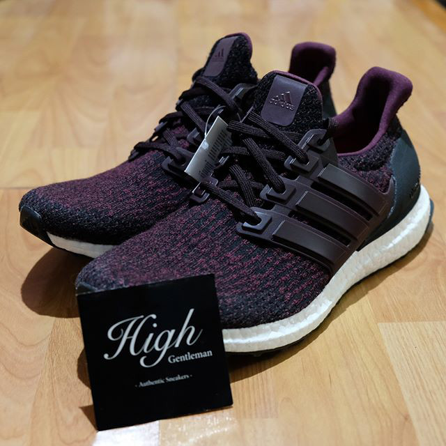 12b24ccfc2506 Jual Adidas Ultra Boost 3.0 Dark Burgundy