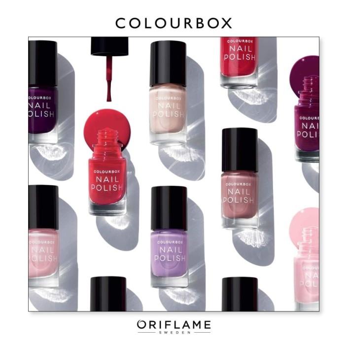 Jual Promo Colour Box Nail Polish Kota Manado Prycil Oriflame Tokopedia