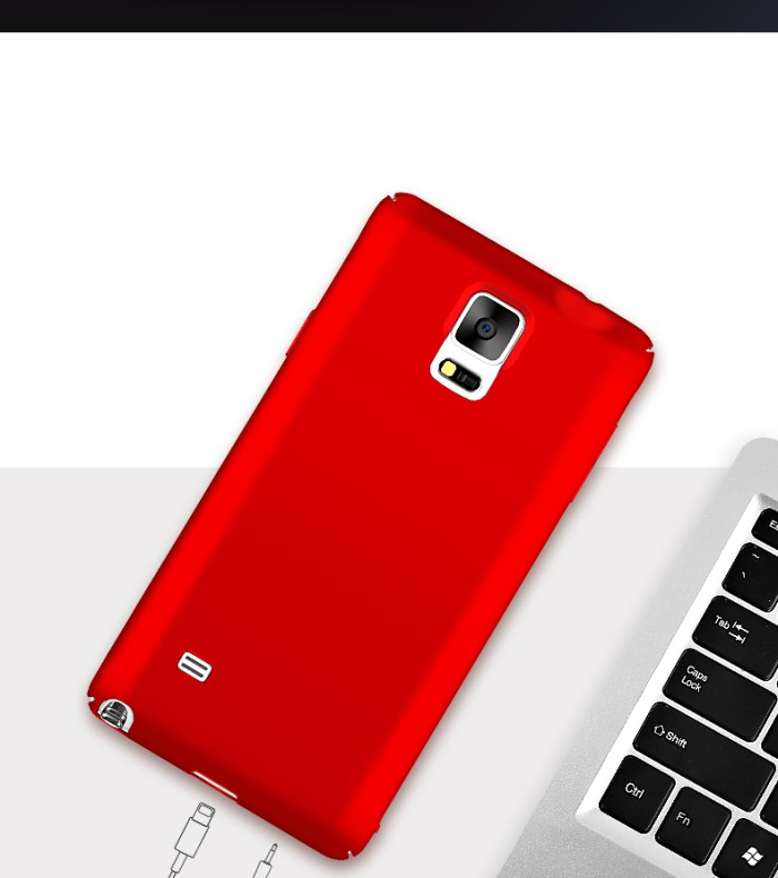 Foto Produk Samsung Galaxy Note 3 Note 4 case casing hp cover ultra thin BABY SKIN - Note 4, Biru dari Case Pedia