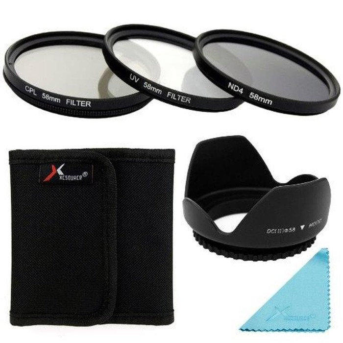 harga Uv cpl nd4 filter + softcase lens hood for canon (1 set )-lf282 Tokopedia.com