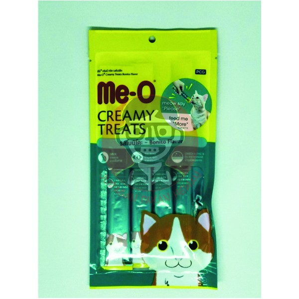 harga Snack/cemilan Kucing Meo Creamy Treats Bonito Flavour Tokopedia.com