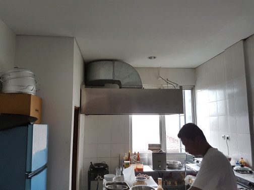 Cooker Hood Exhaust Stainless Murah Free Instalasi