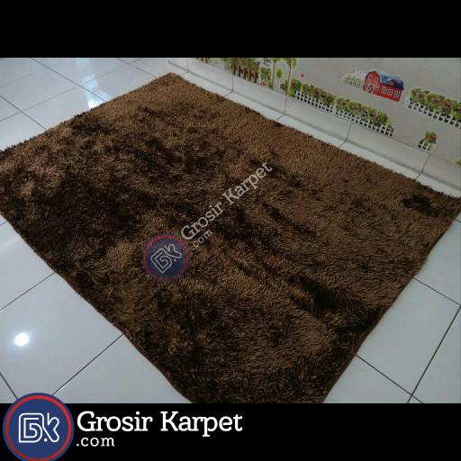 ... Dof Hijau 40 x 60 cm karpet bulu doormat chenille green Berkualitas Source