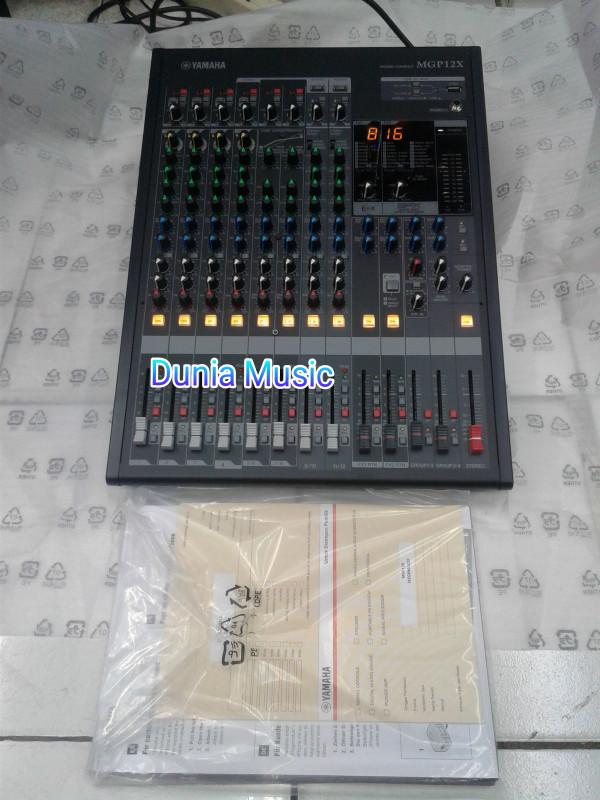 harga Mixer yamaha mgp12x audio mixer 12 chenel Tokopedia.com
