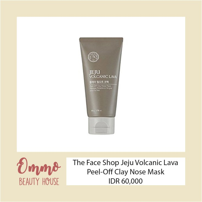 The Face Shop Jeju Volcanic Lava Peel-off Nose Pack