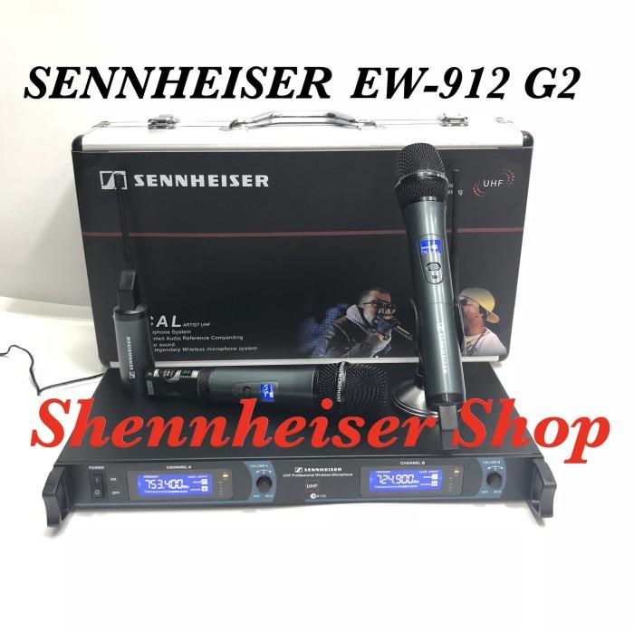 harga Mic wireless sennheiser ew 912 g2 microphone uhf with hardcase Tokopedia.com