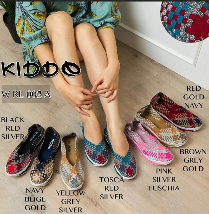 harga Sepatu wedges rajut anyaman anyam kiddo type rl002a Tokopedia.com