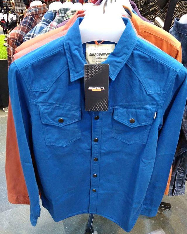 harga Kemeja eiger scott rd  h38608sn original keren biru blue cowok Tokopedia.com