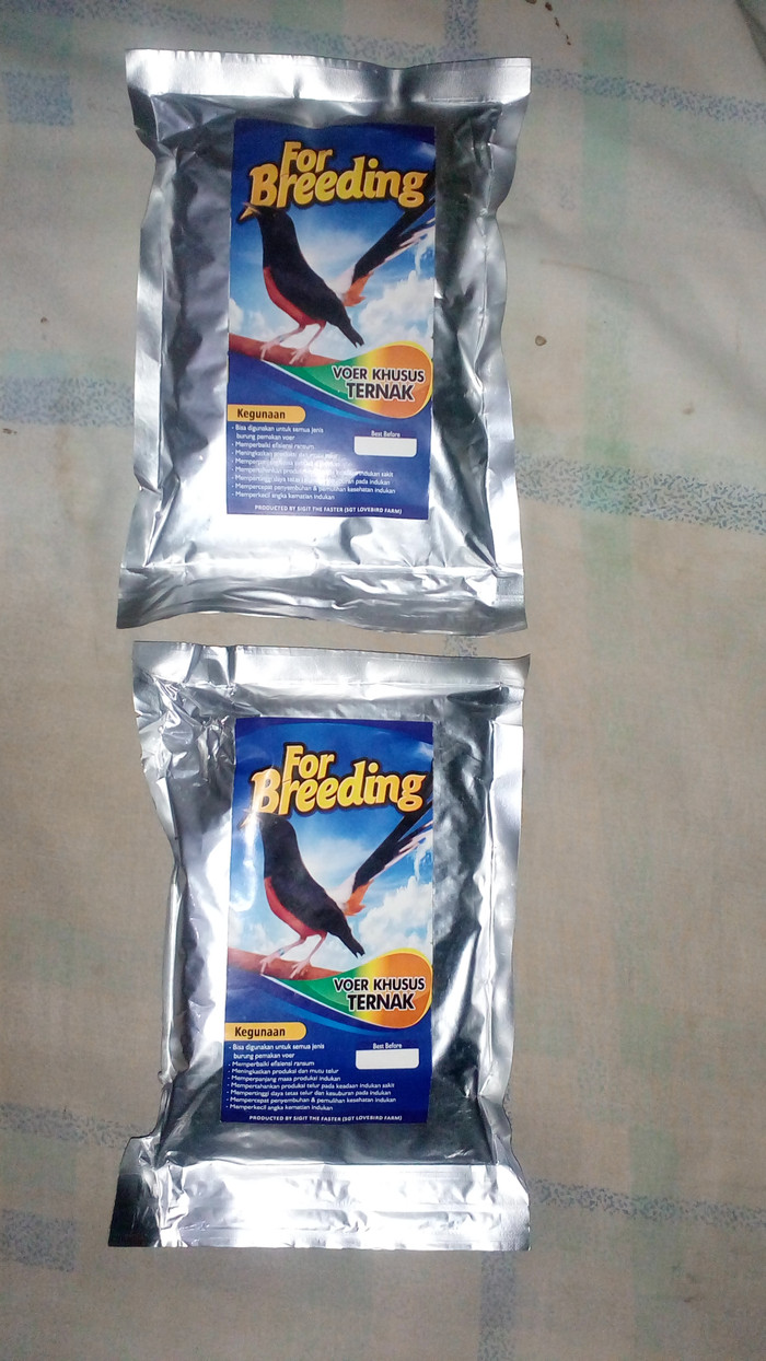harga Voer breeding wrna coklat pakan ternak untuk burung pemakan voer Tokopedia.com