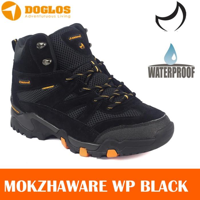 harga Mokzhaware Bluesky Black Waterproof Wp Sepatu Gunung Original Hiking Tokopedia.com