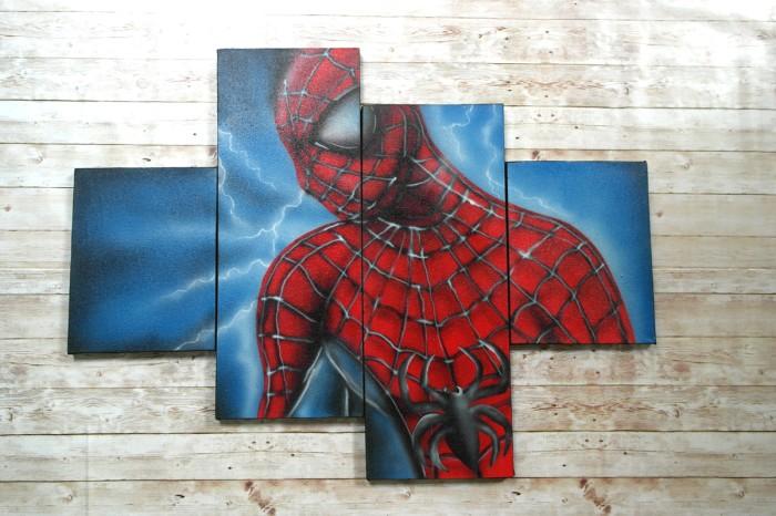 Gambar Spiderman Di Dinding | Gambar Spiderman