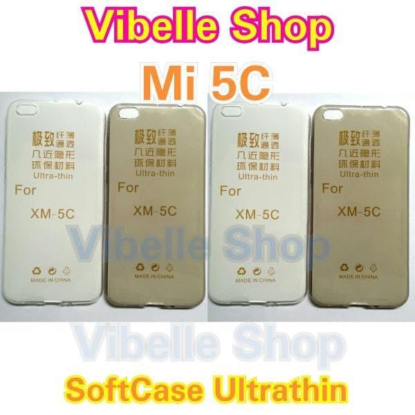 Softcase Ultrathin Xiaomi MI 5C ultra thin Soft Back Case MI 5C