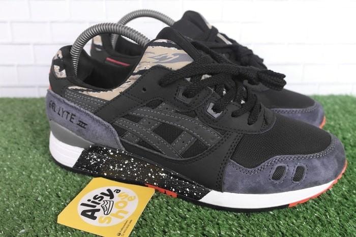 Sepatu Asics Gel Lyte III Tiger Camo Black