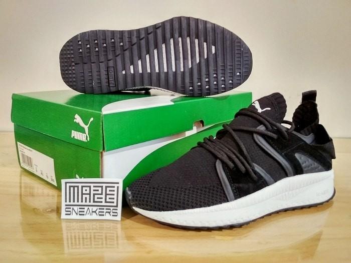 Sneakers casual / olahraga  puma ignite tsugi (black white)
