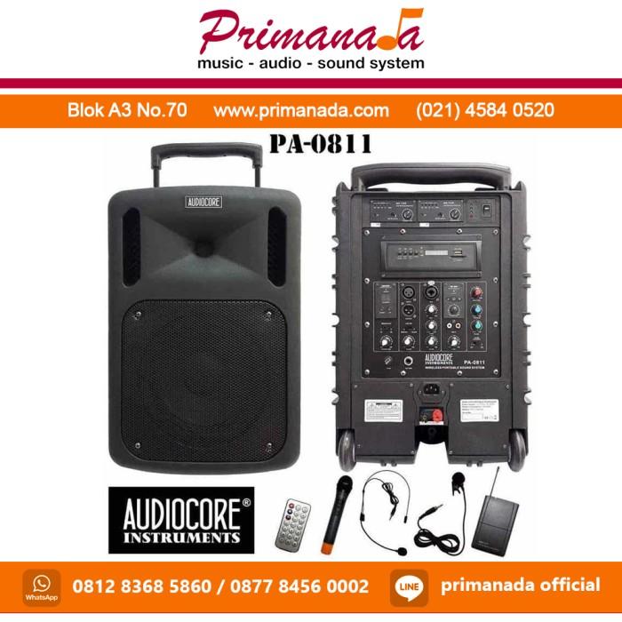 Jual Audiocore PA-0811 / PA0811 / PA 0811 Portable Wireless Meeting - DKI  Jakarta - Primanada | Tokopedia