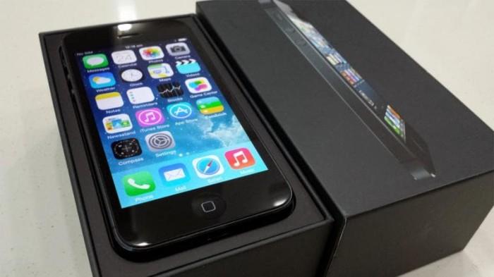 harga Apple iphone 5 16gb black fu gsm original garansi 1 tahun Tokopedia.com