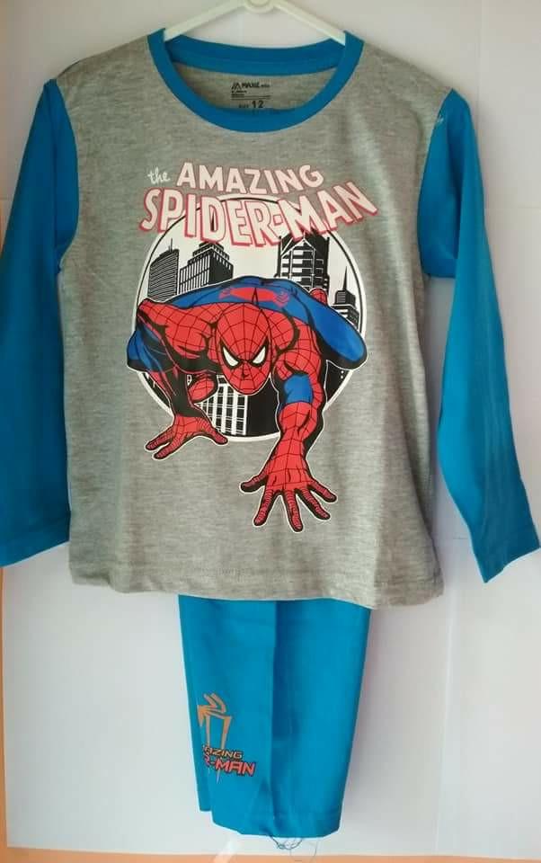 Jual Baju Tidur   Piyama Spiderman sz. 6 th - DS Item  797af4e76d