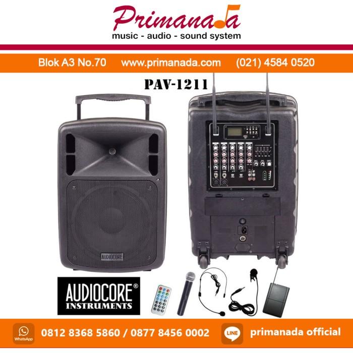 harga Audiocore pav-1211 / pav 1211 / pav1211 portable wireless meeting Tokopedia.com