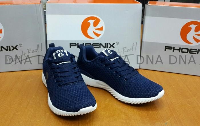 harga Sepatu sneakers phoenix mamba blue navy white original - sport/casual Tokopedia.com