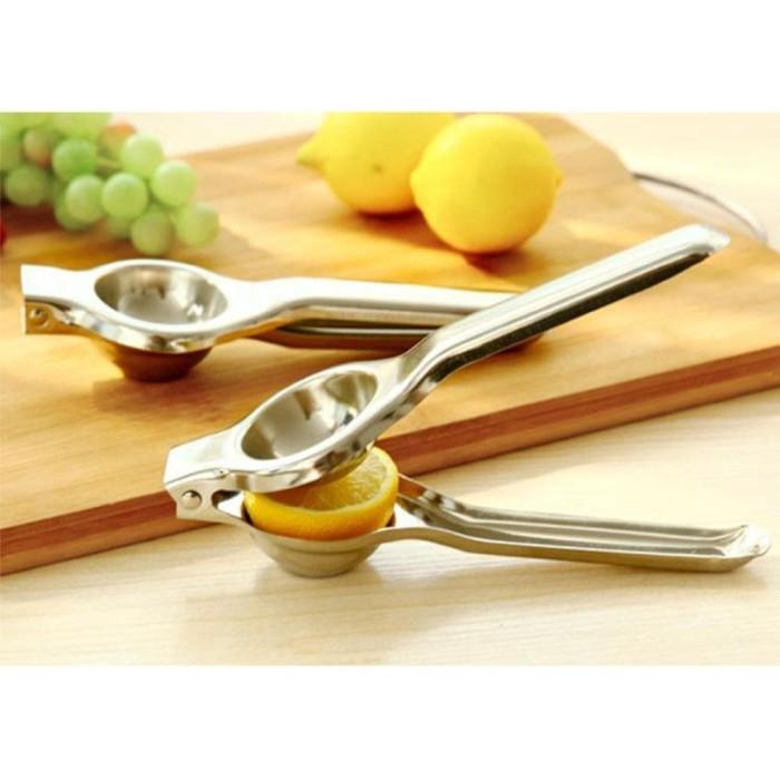 harga Alat pemeras jeruk lemon stainless steel squeezer Tokopedia.com