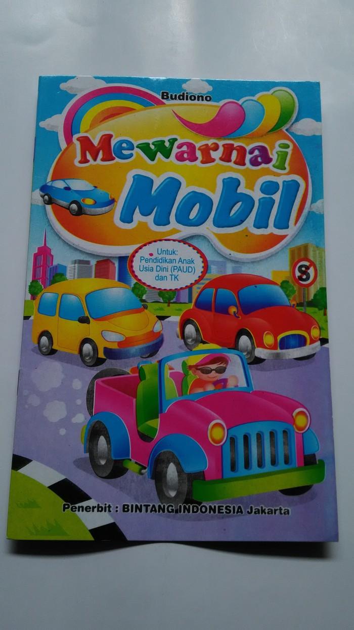 Jual Buku Mewarnai Mobil Toko Azzuras Tokopedia