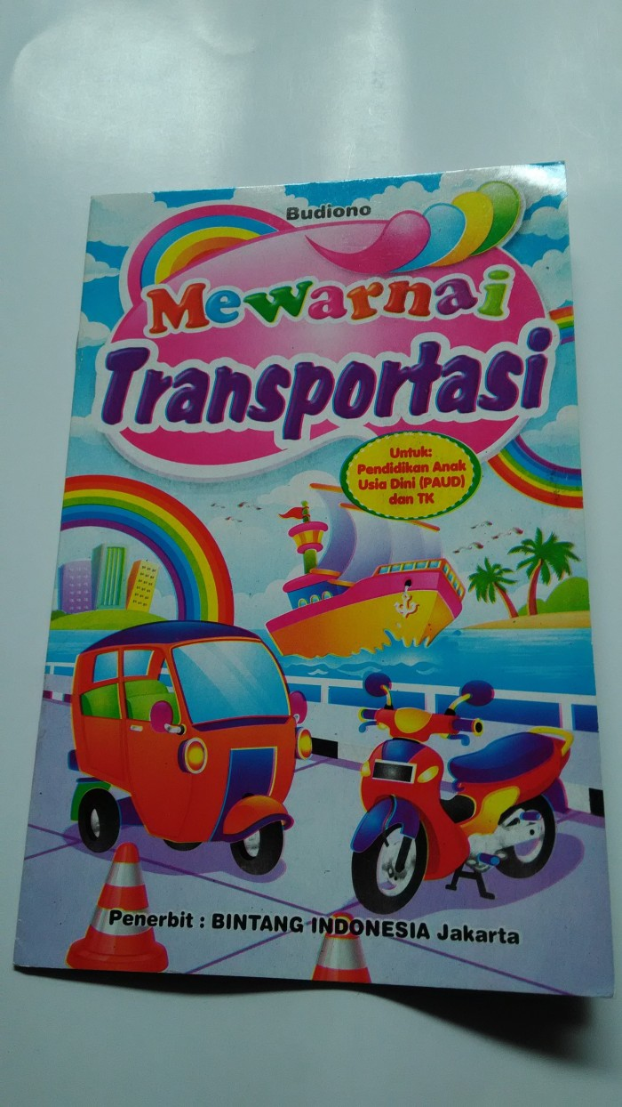 Jual BUKU MEWARNAI TRANSPORTASI Jakarta Selatan TOKO AZZURAS