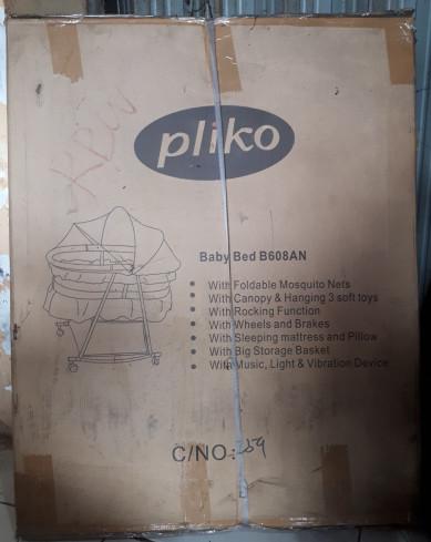 harga Keranjang bayi lipat baby box pliko b608an oval cradle baby playpen Tokopedia.com