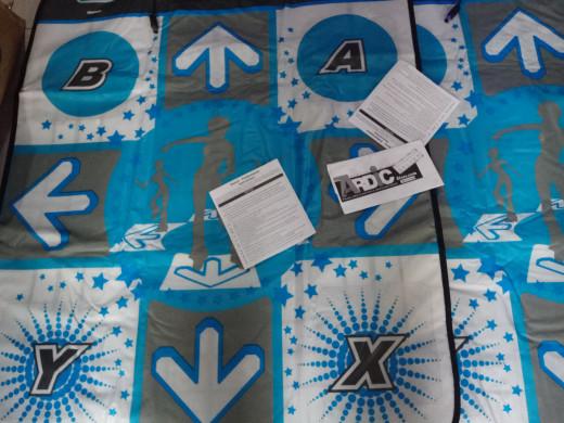 harga Karpet Dance Dance Carpet Wii Wii U Original + Cd Game Nya :) Tokopedia.com