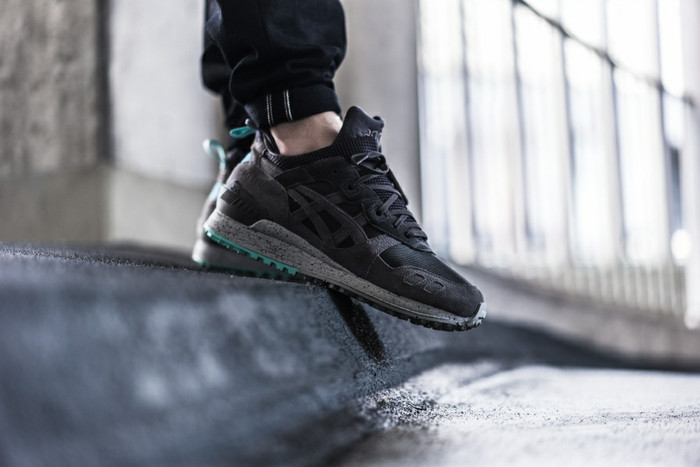Asics gel lyte iii mt boots black white