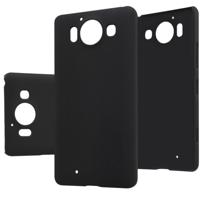 Nillkin Frosted Hard Case Nokia Lumia 950 - Hitam