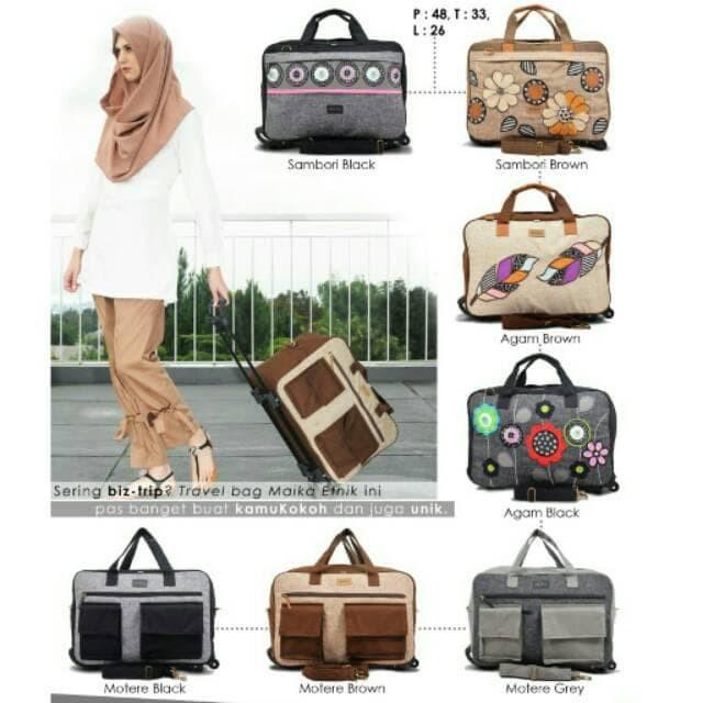 ✔ Maika Travel Bag - Romlah Fashion