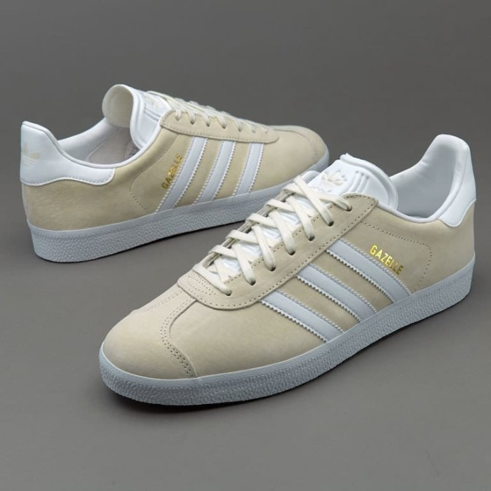 Jual adidas Originals Gazelle Off White Gold BB5475 Kab. Banyumas sepatuoriginale | Tokopedia