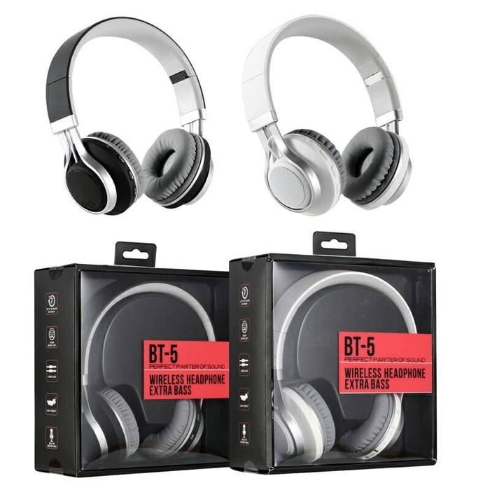 bfdd88645d0 Update Harga Rexus BT5 - Wireless Headset Bluetooth BT-5 Extra Bass ...