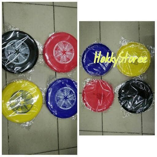 Flying disc / frisbee / piring terbang tebal kuat murah bawah