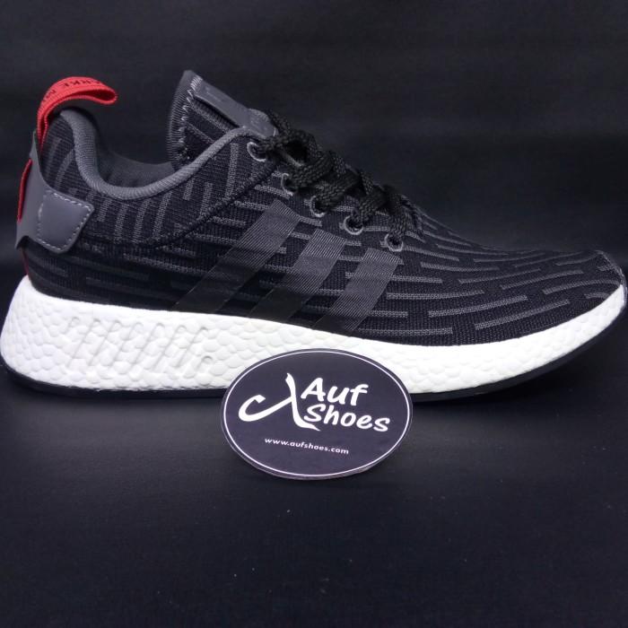 6d485692d313b Jual Adidas NMD R2 Footlocker Black White - DKI Jakarta - AUF SHOES ...
