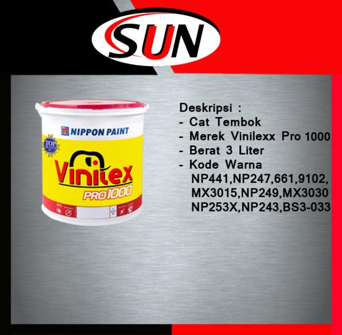harga Cat tembok vinilex pro 1000 3 l / 45 kg ( khusus gojek ) Tokopedia.com