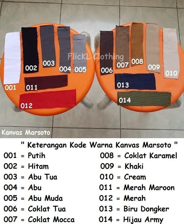 Foto Produk Bahan Kain Kanvas Marsoto Cotton Katun Tas Jaket Celana Pants dari FlicKL.Clothing