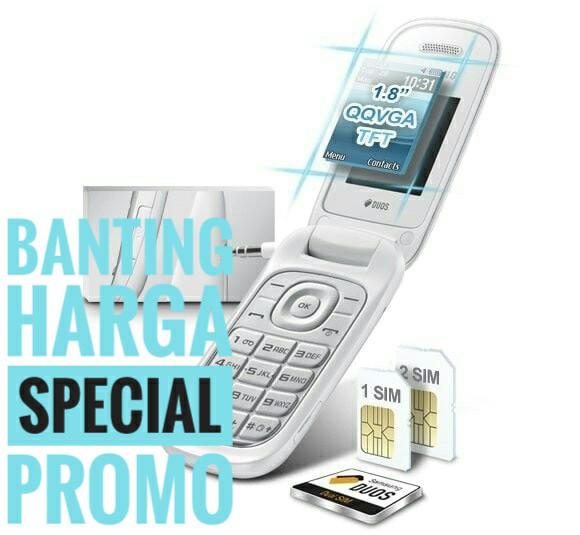 harga Handphone Lipat Samsung Caramel Flip Type Gt E1272 Garansi Distributor Tokopedia.com